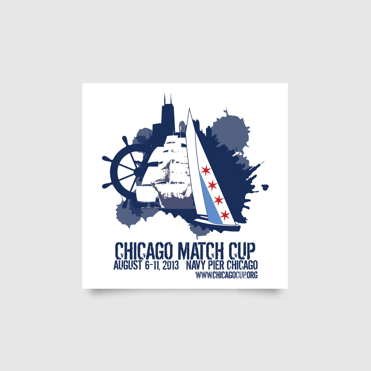 Chicago Match Cup Graphic