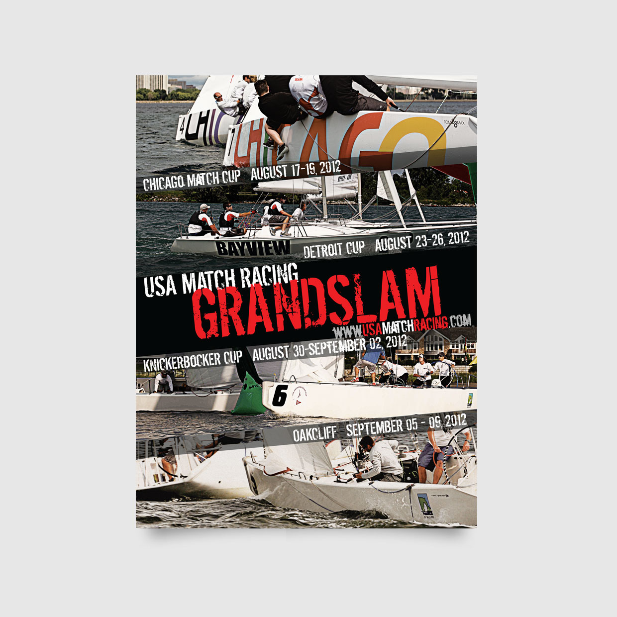 US Grandslam Match Racing Poster